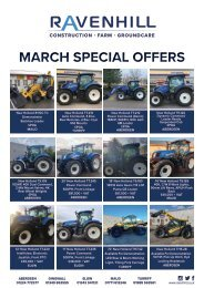 Ravenhill Monthly Featured Machines A4 March 2021