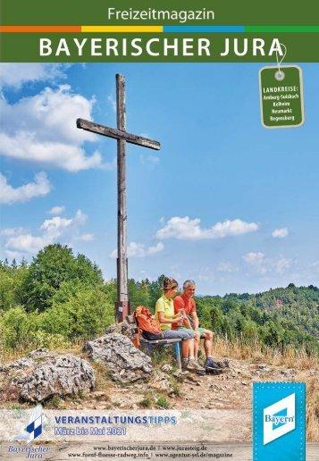 Freizeitmagazin Bayerischer Jura - Frühjahr 2021