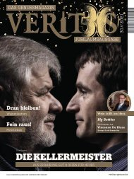 VERITAS - Das Genussmagazin - Ausgabe 30/2021