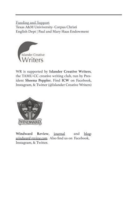 Windward Review