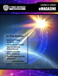 Cyber Defense eMagazine March 2021 Edition
