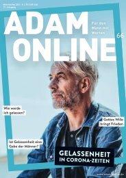 Adam online Nr. 66 Vorschau