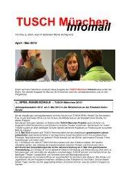 InfoMail_April_ Mai 2012_EF - TUSCH aktuell