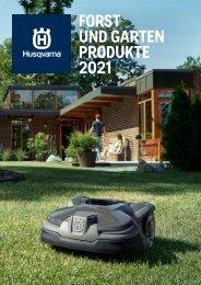 Forst und Gartenprodukte Katalog Husqvarna 2021