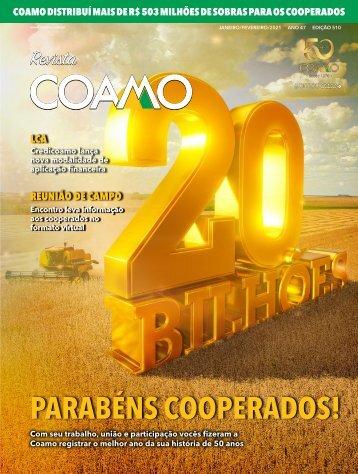 Revista Coamo edição Janeiro/Fevereiro de 2021
