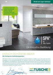 SPA+ by Holz-Tusche