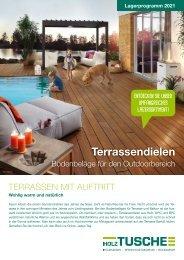 Terrassendielen Bodenbeläge für den Outdoorbereich