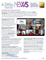 Roaring Fork Valley May Newsletter