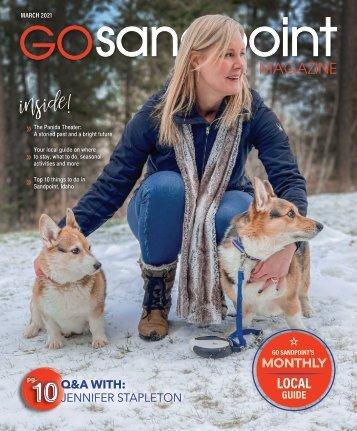 March 2021 Go Sandpoint Magazine