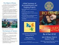 Download Membership Brochure - Rotary Club of the Bronx