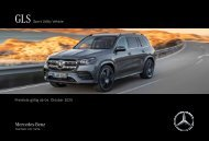 Mercedes-Benz Preisliste GLS