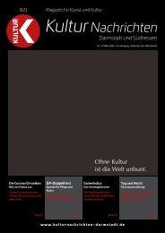 Kulturnachrichten für Darmstadt und Südhessen - 03 - 2021