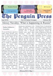 AAS Moscow - Penguin Press - Issue 04 / February 2020-2021