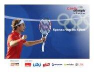 Sponsoring im Sport - Swiss Olympic