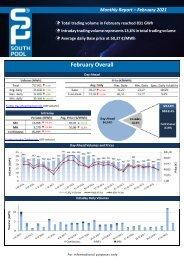 Trading Report February 2021