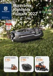 Husqvarna Highlights Frühjahr 2021