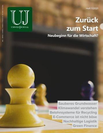 UMWELT JOURNAL, 1/2021