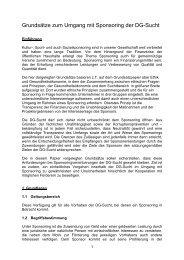 Sponsoring-Grundsätze (PDF) - DG-Sucht