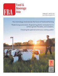 Food & Beverage Asia February/March 2021