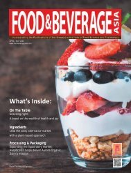 Food & Beverage Asia April/May 2020