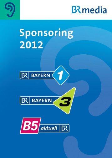 Sponsoring 2012 - Radio- und TV-Werbung