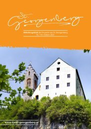 St. Georgenberg Heft 1/2021 Ostern