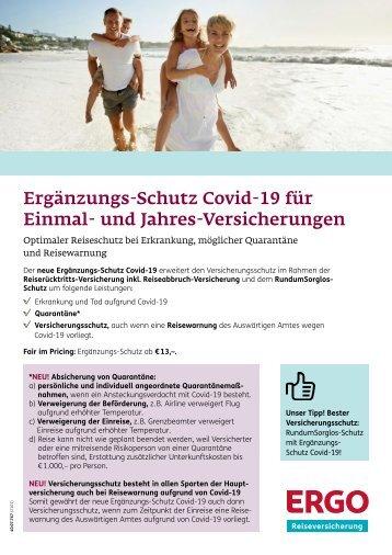 Vital Tours - ERGO Ergänzungs-Schutz Covid-19