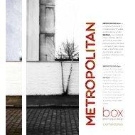 CATALOGO METROPOLITAN BOX