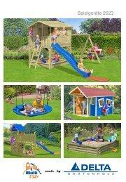 Katalog 2021 Delta Gartenholz Spielgerate DE