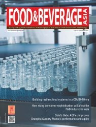 Food & Beverage Asia August/September 2020