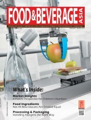 Food & Beverage Asia February/March 2019