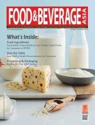 Food & Beverage Asia October/November 2019