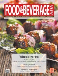 Food & Beverage Asia February/March 2018