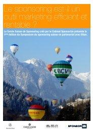 Cabinet Sponsorize - Cercle Suisse de Sponsoring