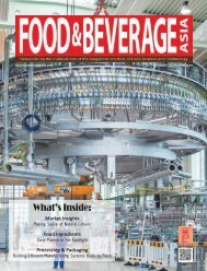Food & Beverage Asia October/November 2018