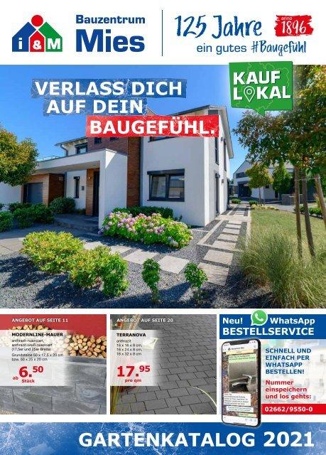 Gartenkatalog 2021 - Bauzentrum Mies