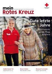 Mein Rotes Kreuz 01/2021: Ausgabe Wien
