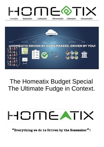 The Budget 2021 and the Reluctant 10 percenters a Home@ix Response.