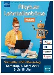 Messejournal Lehrstellenbörse 2021