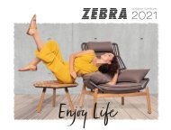 ZEBRA Gartenmöbel Katalog 2021