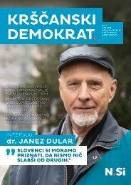 Krščanski demokrat št. 24 Leto: 2021