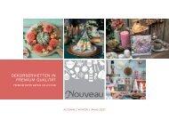NOUVEAU paper napkins - Autumn/Winte/Xmas 2021