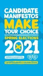 Spring Elections Manifestos 2021