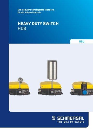 HEAVY DUTY SWITCH HDS [DE]