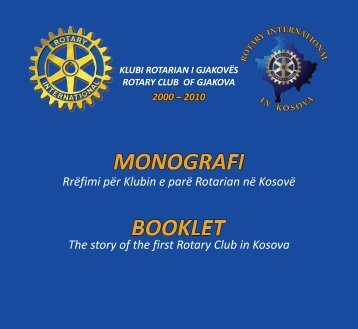 Rotary Monografia PDF - Rotary Club Of Warren Pennsylvania