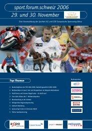 Mittwoch, den 29. November 2006 - Sport.forum.schweiz