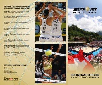 GSTAAD SWITZERLAND - SPONSORING EXTRA NEWS