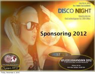 Sponsoring 2012 - RT37 Wien International