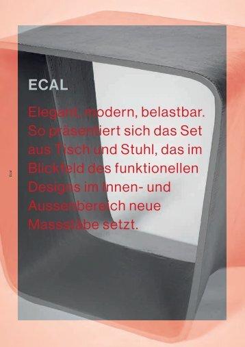 eternit ECAL Hocker