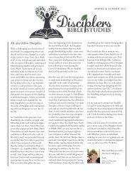 Disciplers Newsletter   Spring & Summer 2021
